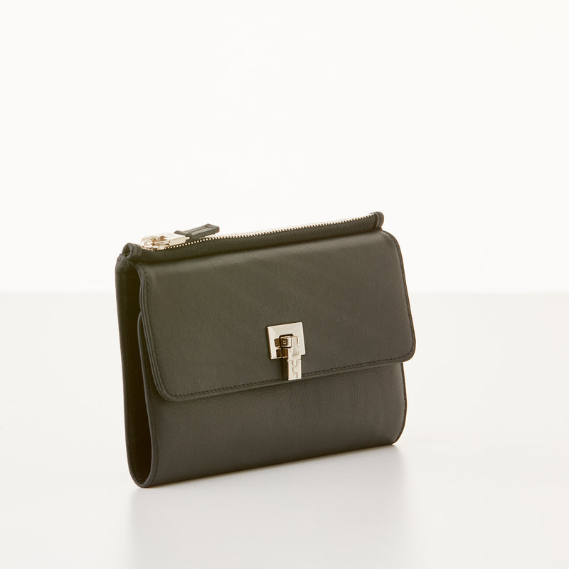Soft Continental Wallet - Black Nappa