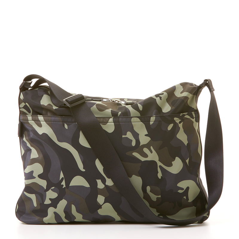 Walker Messenger - Camo Nylon