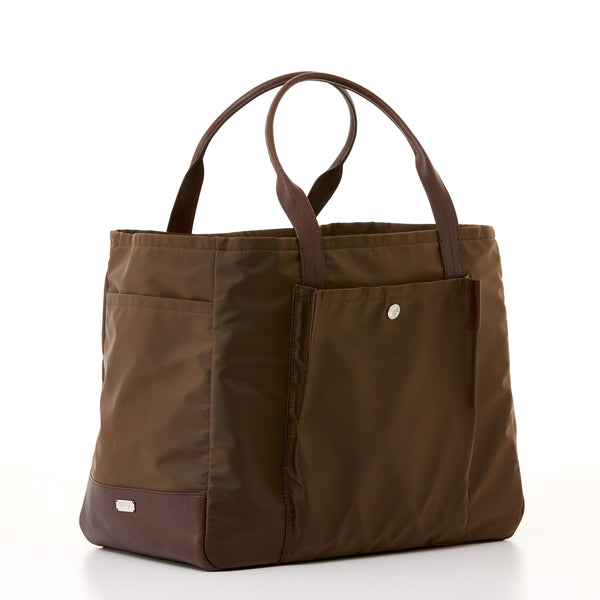 Bradley Tote - Brown Nylon