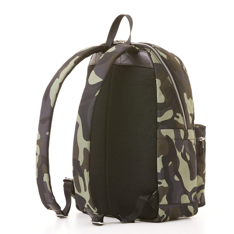 Perry Slim Backpack - Camo Nylon