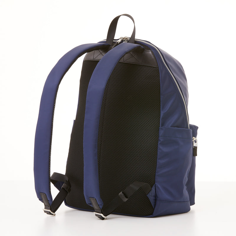 Perry Slim Backpack - Navy Nylon