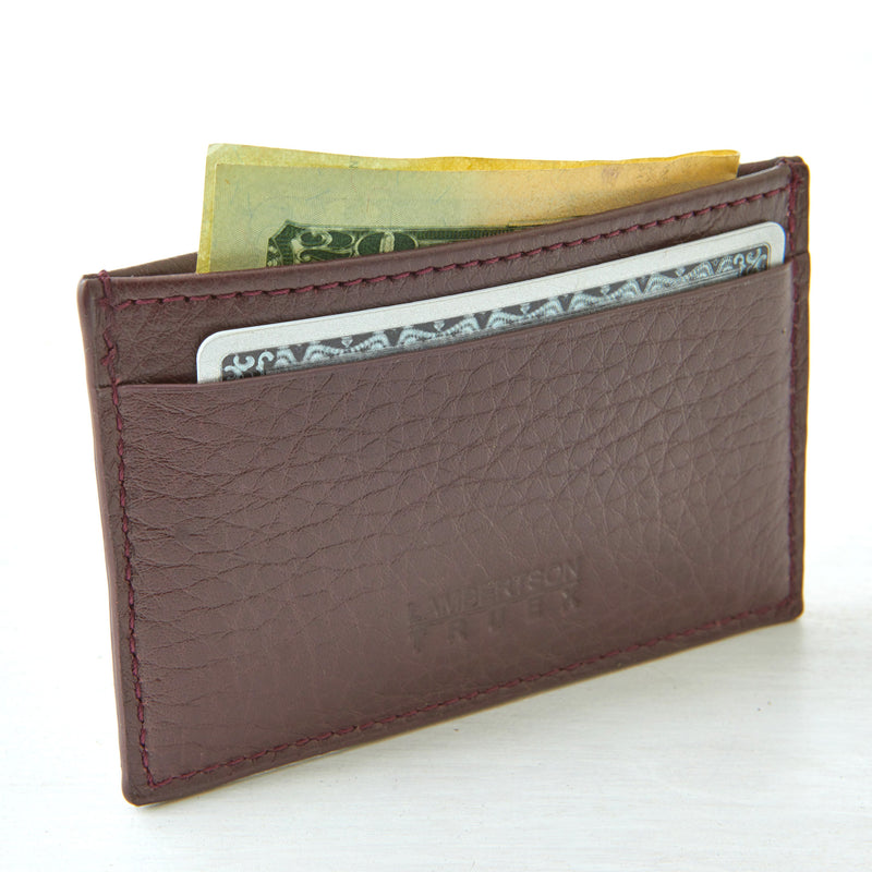 Card Case - Oxblood