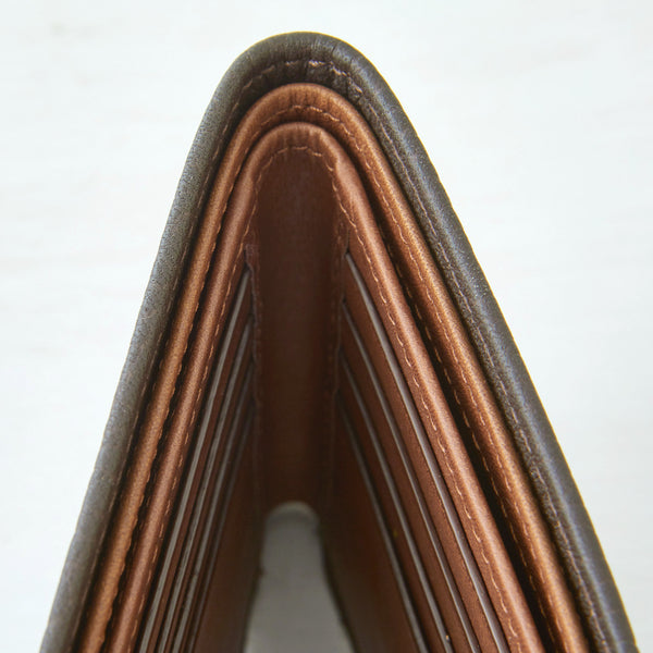 Bifold Wallet - Dark Brown