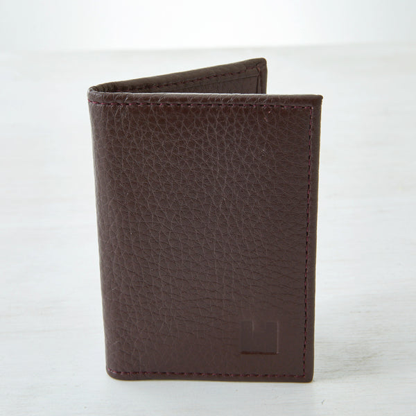 Card Wallet - Oxblood