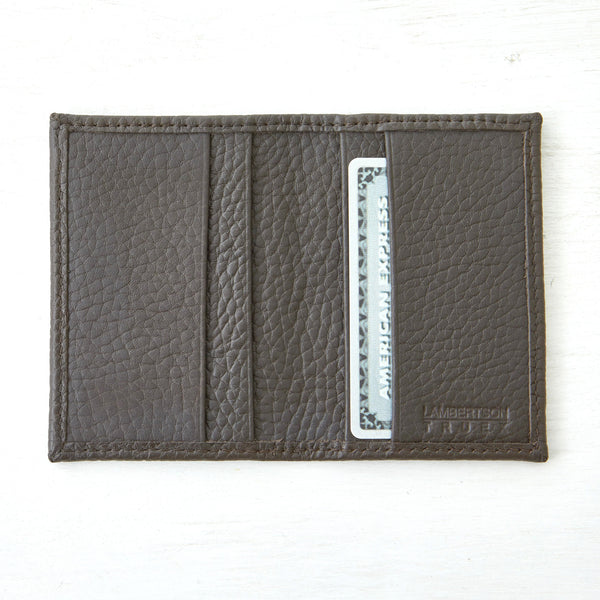 Card Wallet - Dark Brown