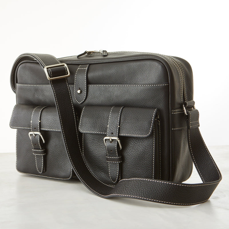Hudson Camera Bag - Black Pebble Grain