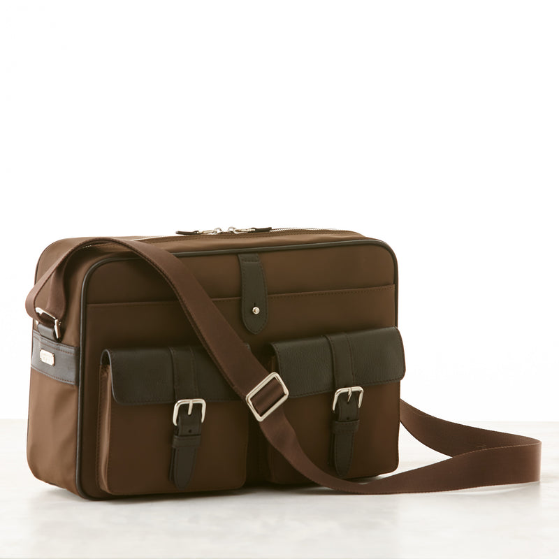 Hudson Camera Bag - Brown Nylon