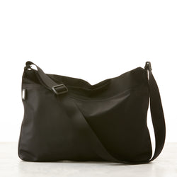 Walker Nylon Messenger - Black