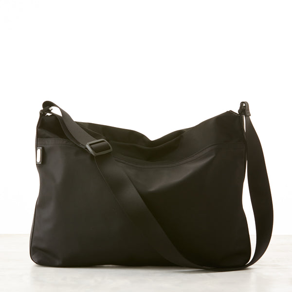 Walker Messenger - Black Nylon