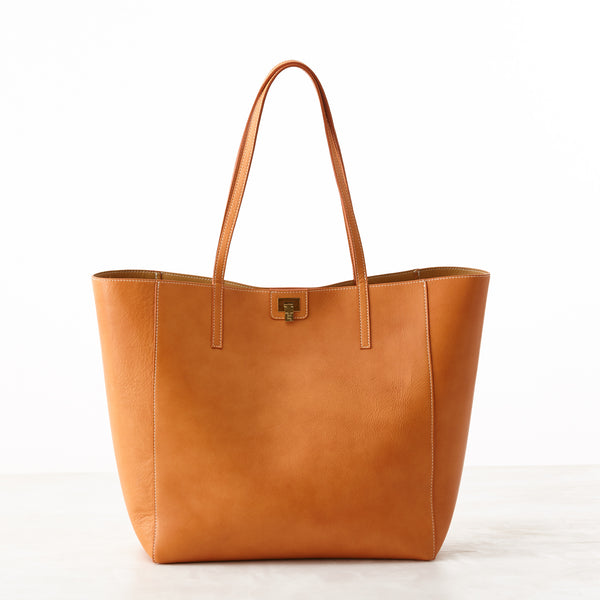 Shopper Tote - Orange