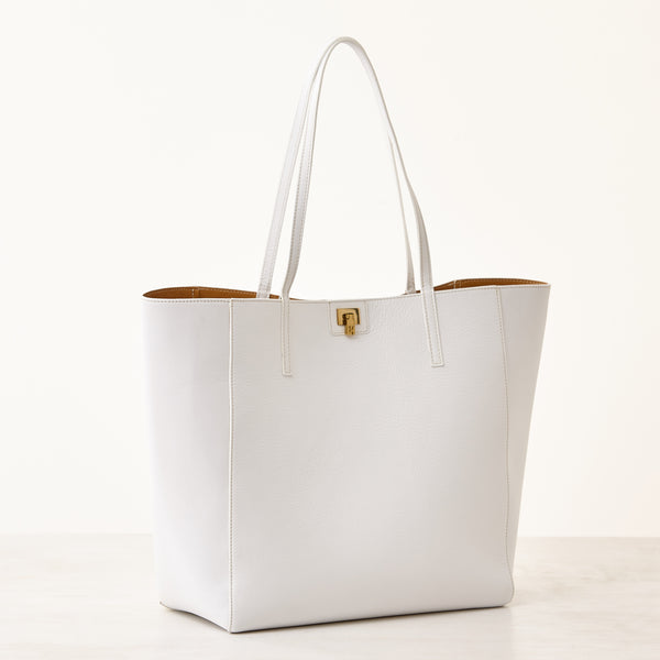 Shopper Tote - White