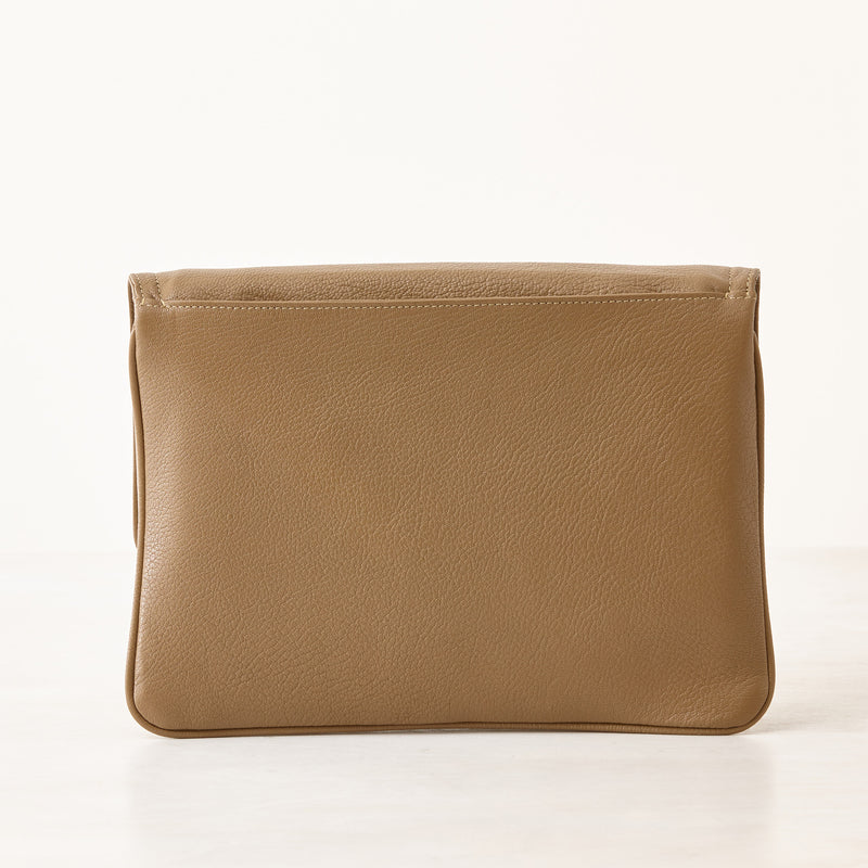 Lilly Crossbody/Clutch - Taupe