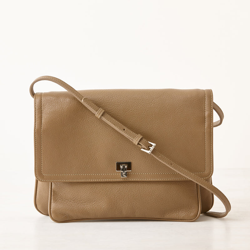 Lilly Shoulder Bag/Clutch - Taupe