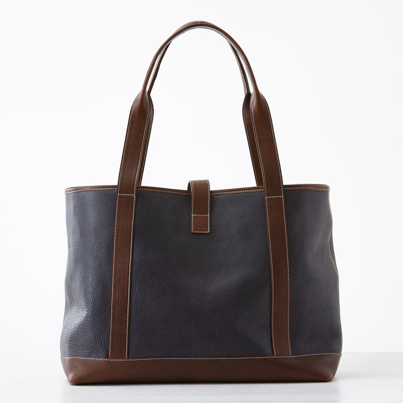 New Preston Tote - Black Leather