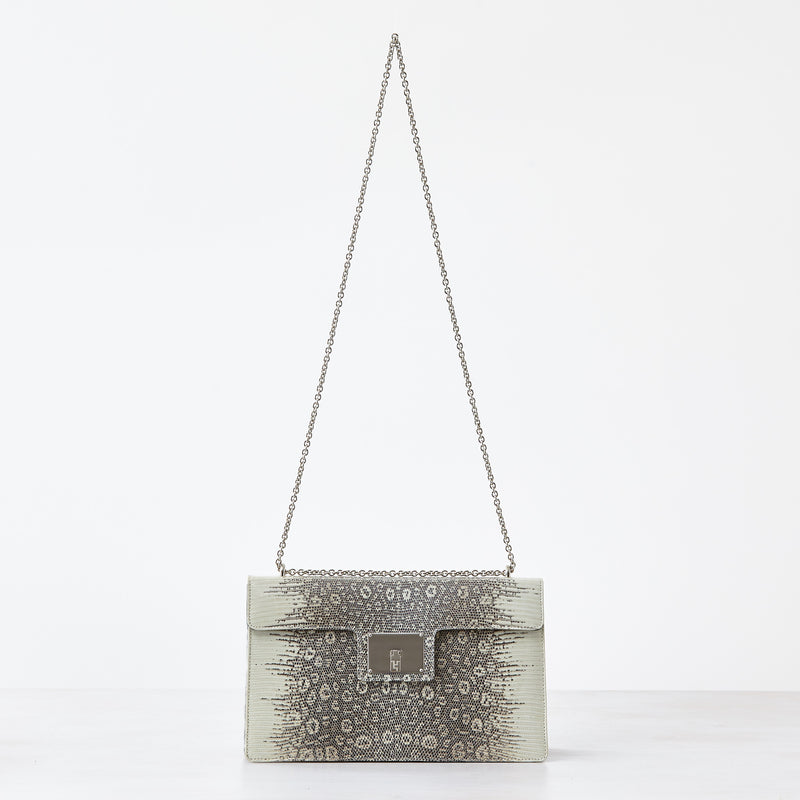 Westie Shoulder Bag - Natural Lizard