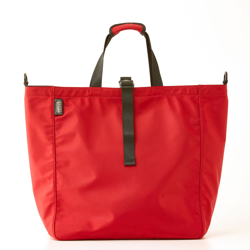 Harrison Nylon Tote - Large - Red