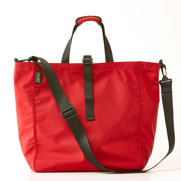 Harrison Tote - Large - Red Nylon