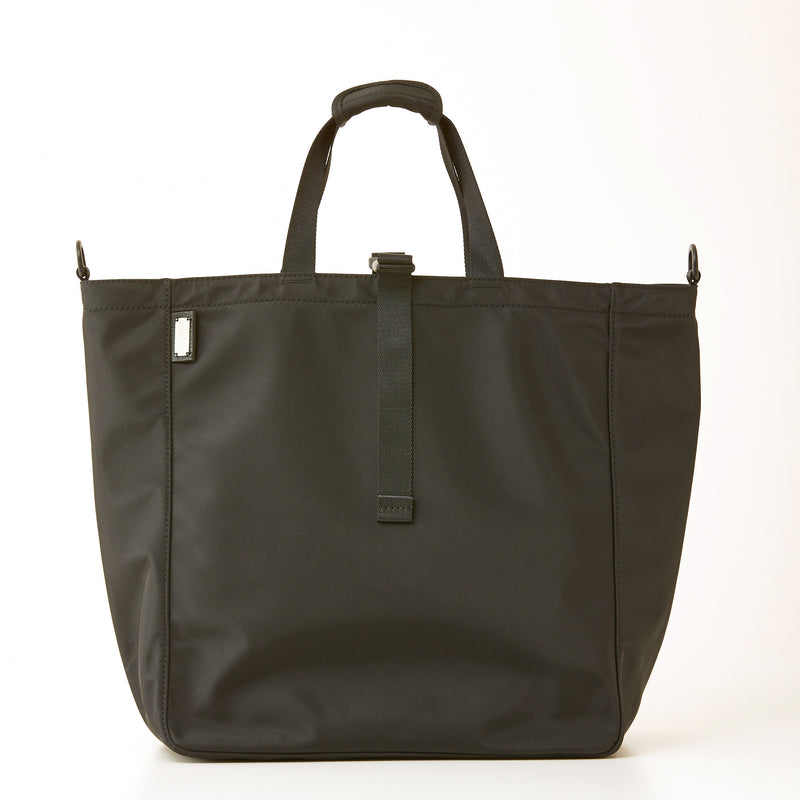 Harrison Nylon Tote - Large - Black