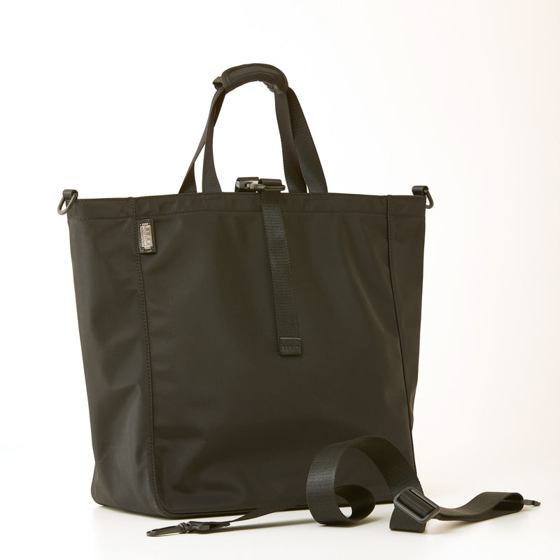 Harrison Tote - Large - Black Nylon