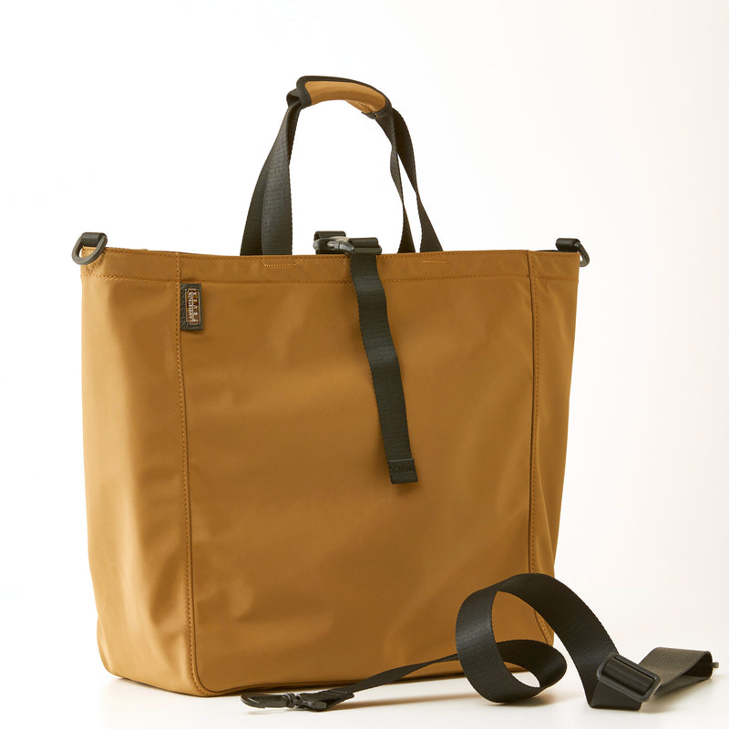 Harrison Tote - Large - Khaki Nylon