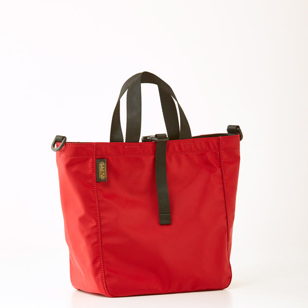 Harrison Nylon Tote - Medium - Red