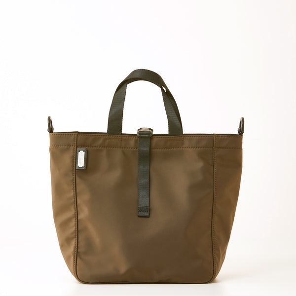 Harrison Tote - Medium - Brown Nylon