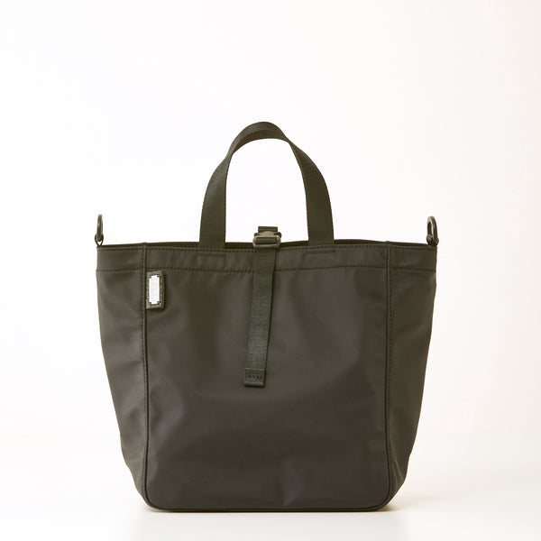 Harrison Nylon Tote - Medium - Black
