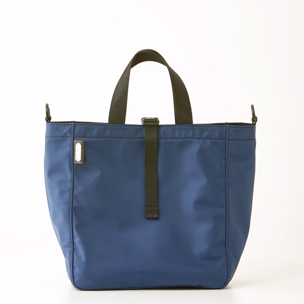 Harrison Nylon Tote - Medium - Navy