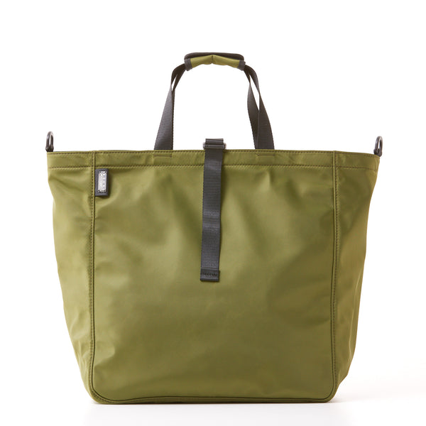 Harrison Tote - Large - Olive Green Nylon