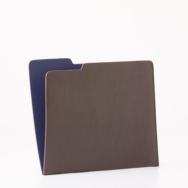 Leather Folder - Dark Brown