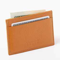 Card Case - Camel