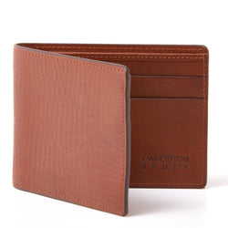 Slim Bifold Wallet - Brown