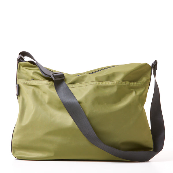 Walker Messenger - Olive Green Nylon