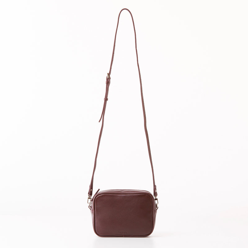 Madi Crossbody - Burgundy
