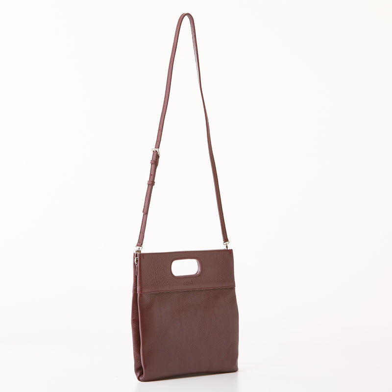 Maggie Clutch/Crossbody - Medium - Burgundy