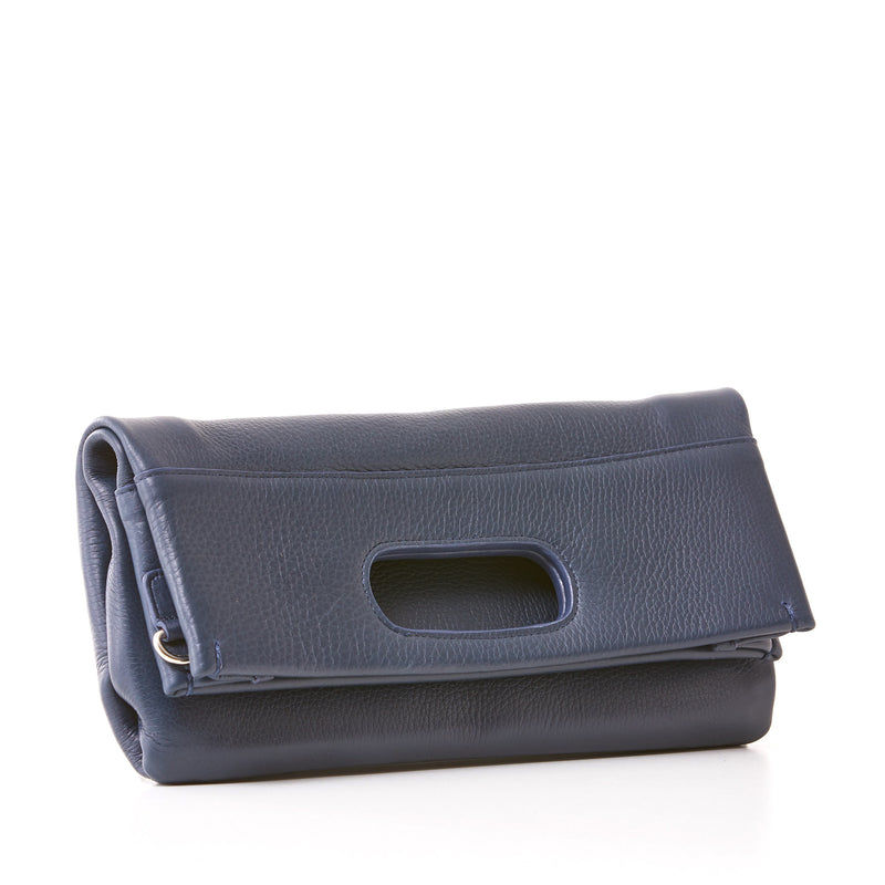 Maggie Clutch/Crossbody - Medium - Navy