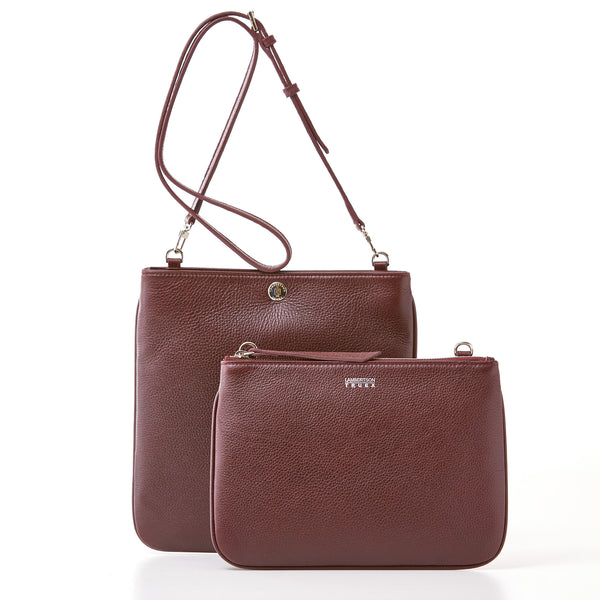 Convertible Crossbody - Burgundy