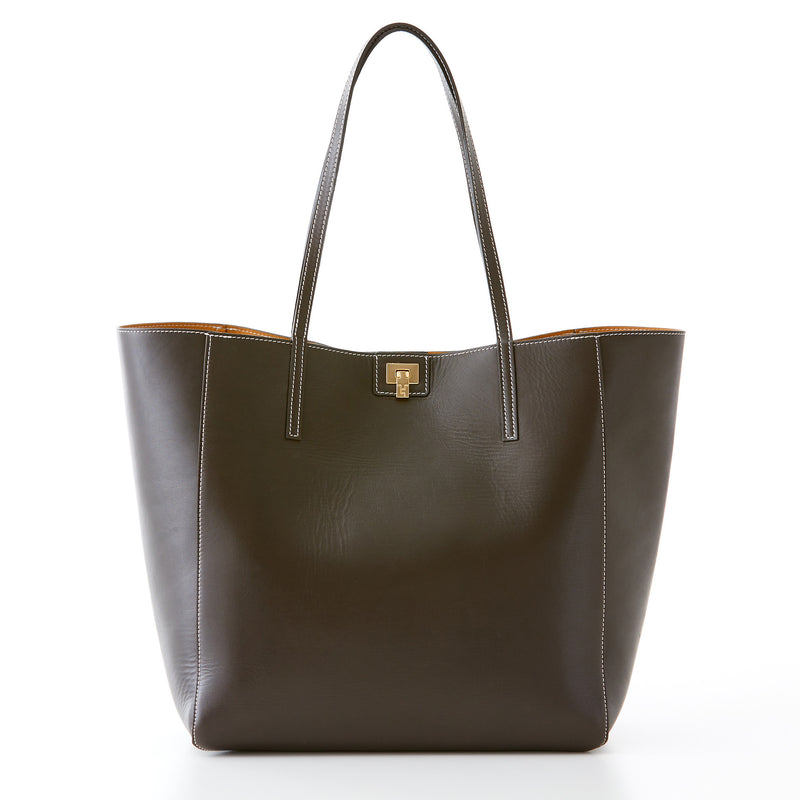 Shopper Tote - Dark Brown