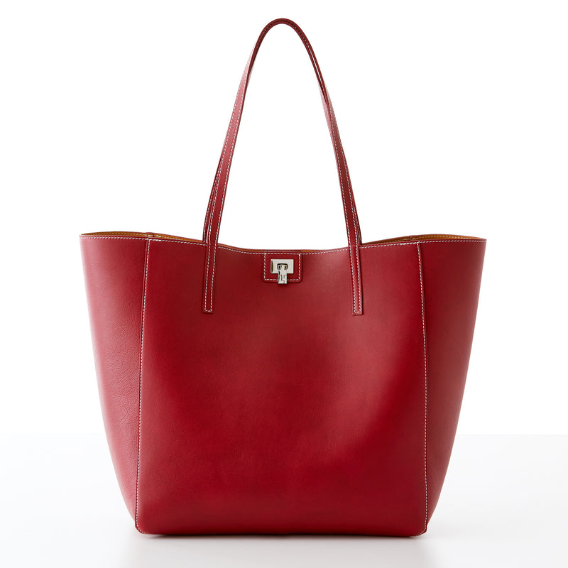 Shopper Tote - Ruby