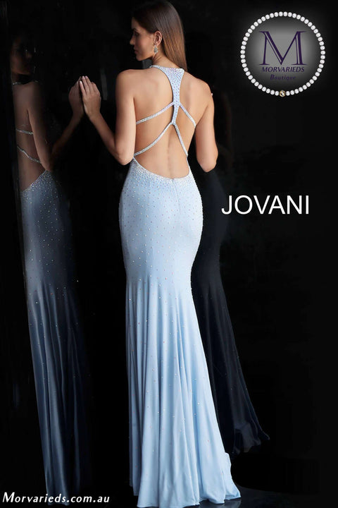 Jersey Dress | Beaded Prom Dress Jovani  67101 - Morvarieds Boutique
