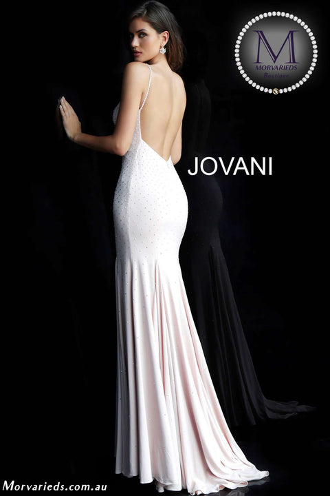 Jersey Dress | Jersey Beaded Prom Dress 63563 - Morvarieds Boutique