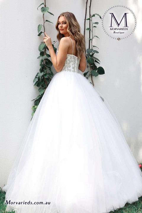 Affordable Wedding Dress | Jadore Bridal Dress W106 - Morvarieds Boutique