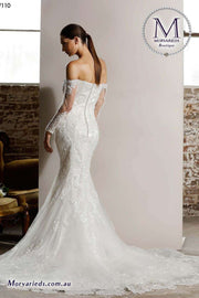 Mermaid Wedding Dress | Jadore Bridal Dress W110 - Morvarieds Boutique