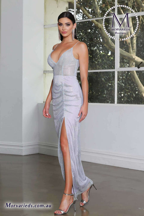 Lilac Evening Dress | Jadore Dress JX4011 - Morvarieds Boutique