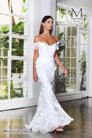 Off Shoulder Gown | Jadore Dress JX4028 - Morvarieds Boutique