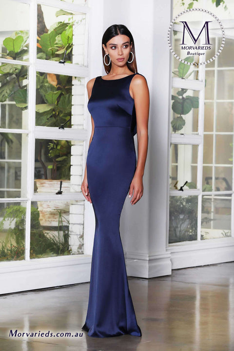 Cowl Back Dress | Jadore Evening Dress JX4053 - Morvarieds Boutique