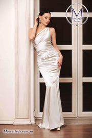 One Shoulder Formal Dress | Jadore Dress JP101 - Morvarieds Boutique