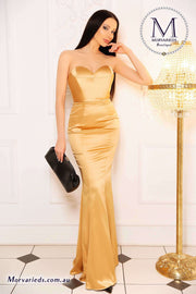 Jadore Formal Strapless Dress | Jadore Dress JP107 - Morvarieds Boutique