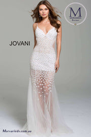 Beaded Dress | Beaded Prom Dress Jovani 60695 - Morvarieds Boutique