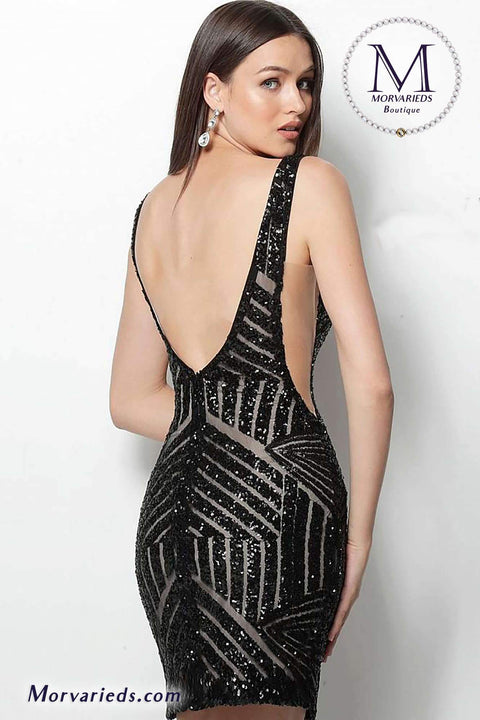 Sexy Cocktail Dress | Form Fitting Short Dress Jovani 63899 - Morvarieds Boutique